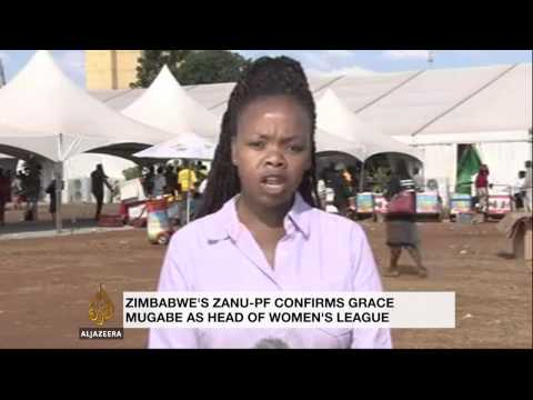 Zimbabwe's first lady gets ruling party post