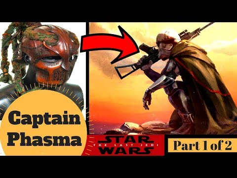 Nuclear Fallout Tribe to First Order - Complete Life of CAPTAIN PHASMA - Star Wars First Order Lore