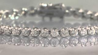 diamond tennis bracelet 5 carat