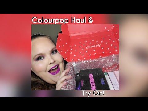 Colourpop Haul & Try On! thumbnail