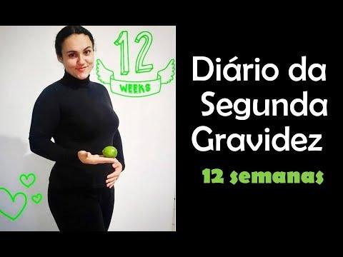 Diário da Segunda Gravidez - 12 semanas | Adeus enjoos e bem vinda atividade física