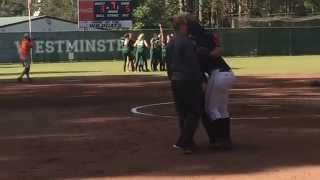 Westminster vs. Appling County - GA State AAA Softball Sweet 16 - 10/23/14