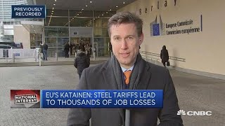 EU would rather de-escalate than retaliate against the US on trade | In The News