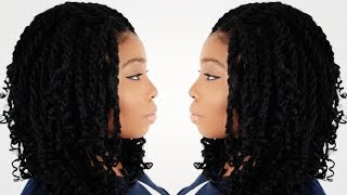 How To: Kinky Twist Hairstyle Tutorial Part 1 of 7 - Supplies