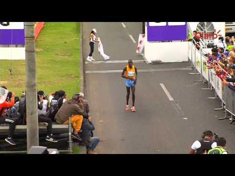 Así se disputó la Media Maratón de Bogotá: victorias de Biwott y Gobena