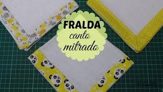Fralda com Canto Mitrado – Bia Feltz