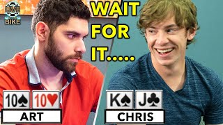 You Won't BELIEVE What Happened on the River ♠ Live at the Bike!