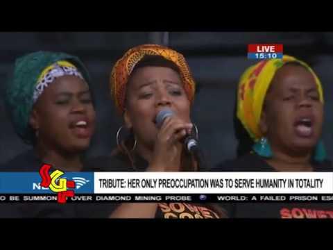 Soweto Gospel Choir - Winnie Mandela's Official Memorial Service
