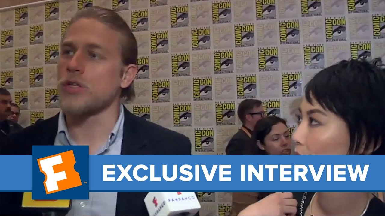 Charlie Hunnam and Rinko Kikuchi Exclusive Interview ...