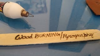 Cutart wood Burning pyrography Tool Caligrpahy Pen, ultra Fine and Easiest