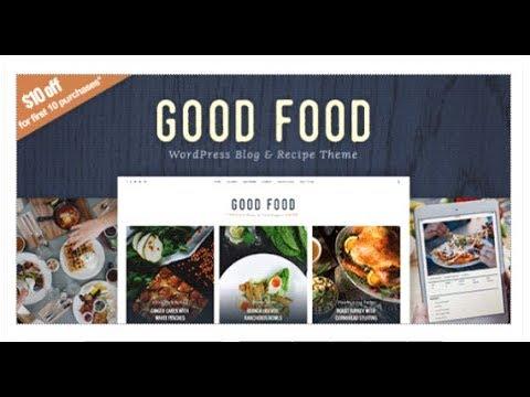 Good food recipe magazine food blogging theme themeforest good food recipe magazine food blogging theme themeforest download forumfinder Gallery
