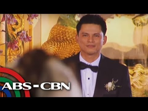 Zoren Carmina Wedding Walks Down The Aisle