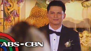 Zoren-Carmina wedding: Carmina walks down the aisle
