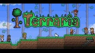 Terraria... Мотобур VS  Королева Пчёл
