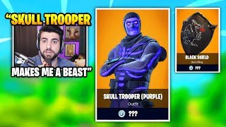 SypherPK Uses RARE SKULL TROOPER Skin And Then THIS HAPPENS | Fortnite Daily Funny Moments Ep.369