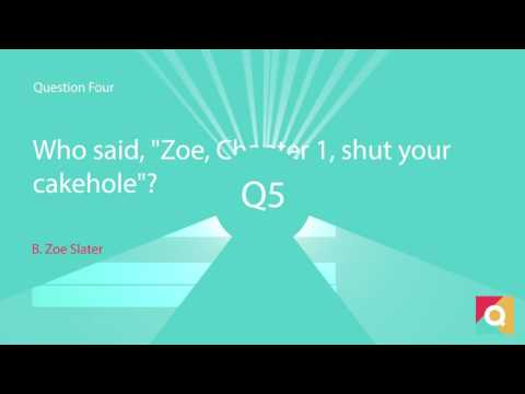 QuizMe Trivia #3: Eastenders Quiz