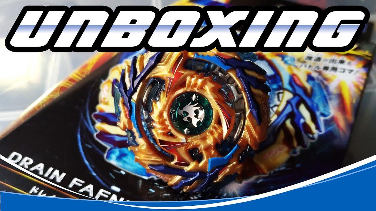 Unboxing B 79 Drain Fafnir 8 Nt Beyblade Burst Pt Br