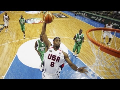 USA vs. Senegal 2006 FIBA Basketball World Championship Group Match FULL GAME