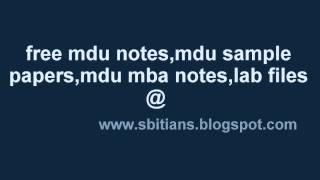 sbit sonepat(free mdu notes@www.sbitians.blogspot.com).wmv