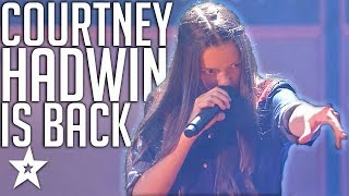 14 Y.O Rock Star Is BACK With An Original on AGT Champions |...