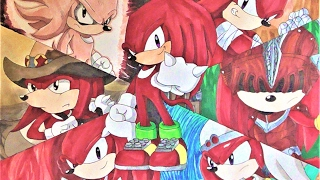 Drawing The Evolution Of Knuckles