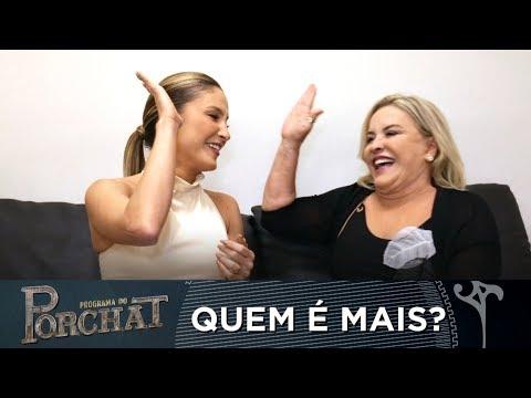 EXCLUSIVO   CLAUDIA LEITTE E A MÃE