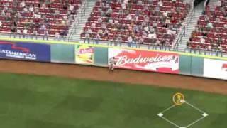 MLB 2K9 PC Gameplay SF@CIN (Giants vs Reds) 5 inning Top