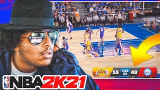 THERE'S NO WAY THIS IS REAL NBA 2K21 PS5 GAMEPLAY... RIGHT, 2K??