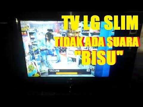 servis tv LG tidak ada suara gambar OK #BISU//