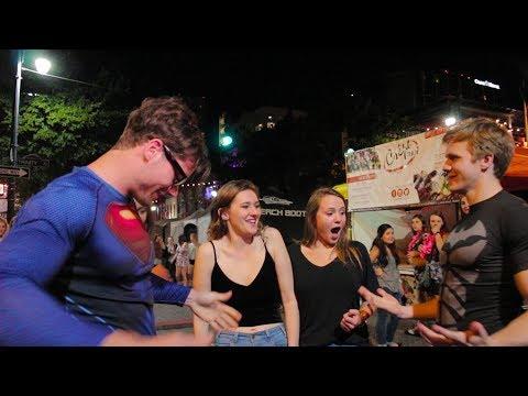 Superhero Prank With Connor Murphy