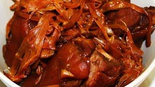 How To Cook Paksiw Na Pata Recipe - English