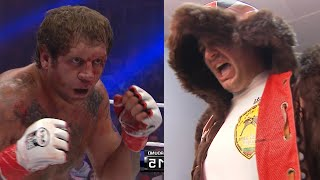 Alexander Emelianenko woke up the BEAR! This is BATTLE! The Titans have fought