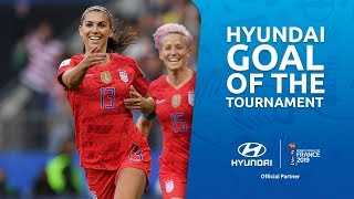 Alex MORGAN – HYUNDAI GOAL OF THE TOURNAMENT – NOMINEE