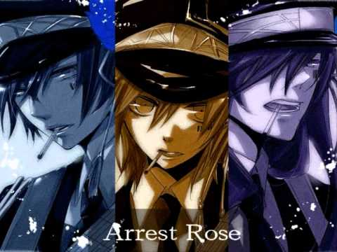 Arrest Rose-Kaito X Len X Gakupo  with lyrics Kaito X Len X Gakupo
