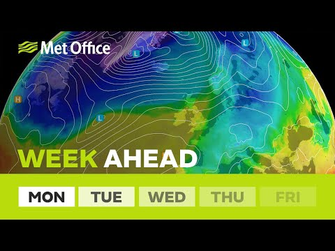 Week ahead – Less windy compared to last week 18/03/19