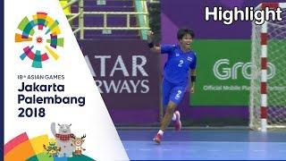ไฮไลท์ แฮนบอลหญิง ไทย Vs อินโด | เอเชียนเกมส์ 2018