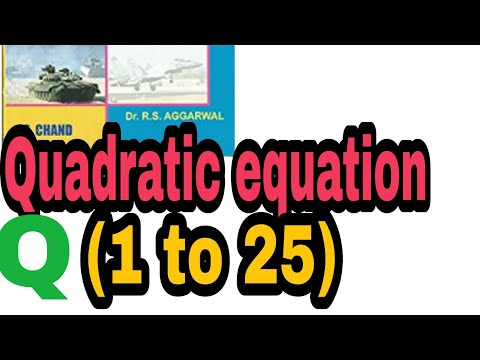 Shortcuts\Tricks of Quadratic equation for NDA and other competitive exams