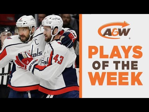 NHL Plays Of The Week: Wilson's Insane Feed For Ovechkin's Hattie