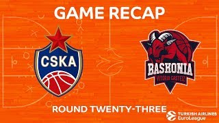 Highlights: CSKA Moscow - Baskonia Vitoria Gasteiz
