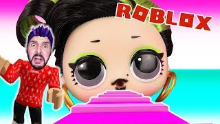 Roblox: ENTKOMME BEFORE LOL SURPRISE! KAAN CAUGHT BY THE LITTLE FIGURES! L.O.L. Surprise Obby