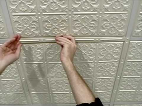Suspended Ceiling Grid Covers Diy