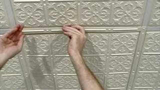 Suspended Ceiling Grid Covers - DIY