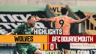 TRAORE AND JIMENEZ COMBINE AGAIN! | Wolves 10 Bournemouth | Highlights