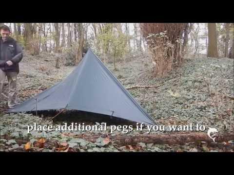 From Tarp to a Tipi Tarp-Tent