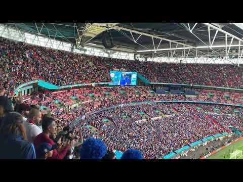 National Anthems Spain Italy - EURO 2020 Semifinal 1 - Wembley Stadium - July 6, 2021