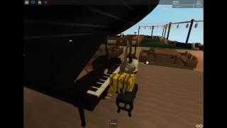 Roblox Virtual Piano (Sing me to sleep - Alan Walker)