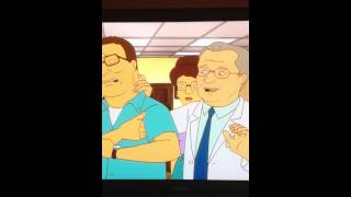 King of the Hill hilarious testosterone scene