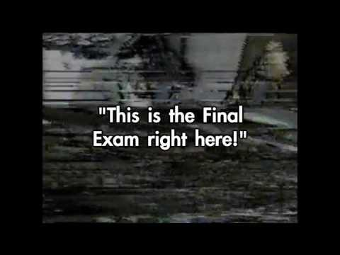 The Final Exam: Compare voice of Agent Frank Doyle on Mythbusters to Bari Bomb Scene