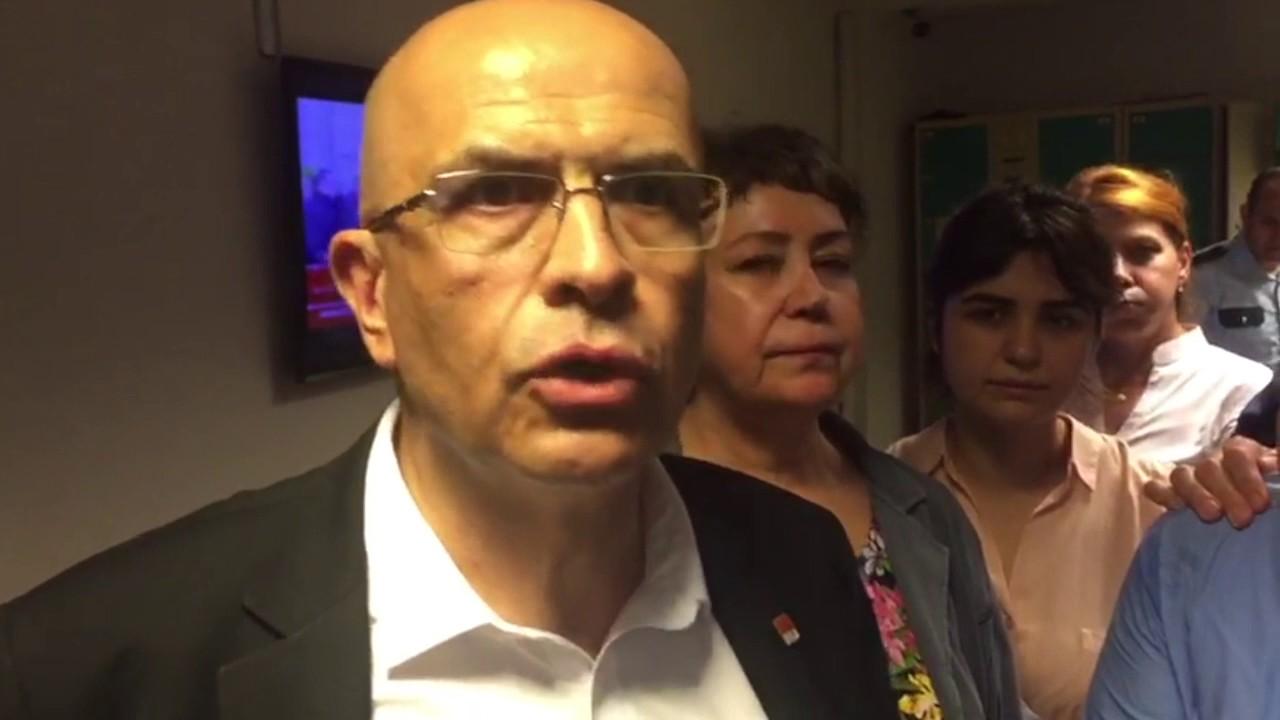 CHP Milletvekili Enis Berberoğlu'ndan tutuklama sonrası açıklama