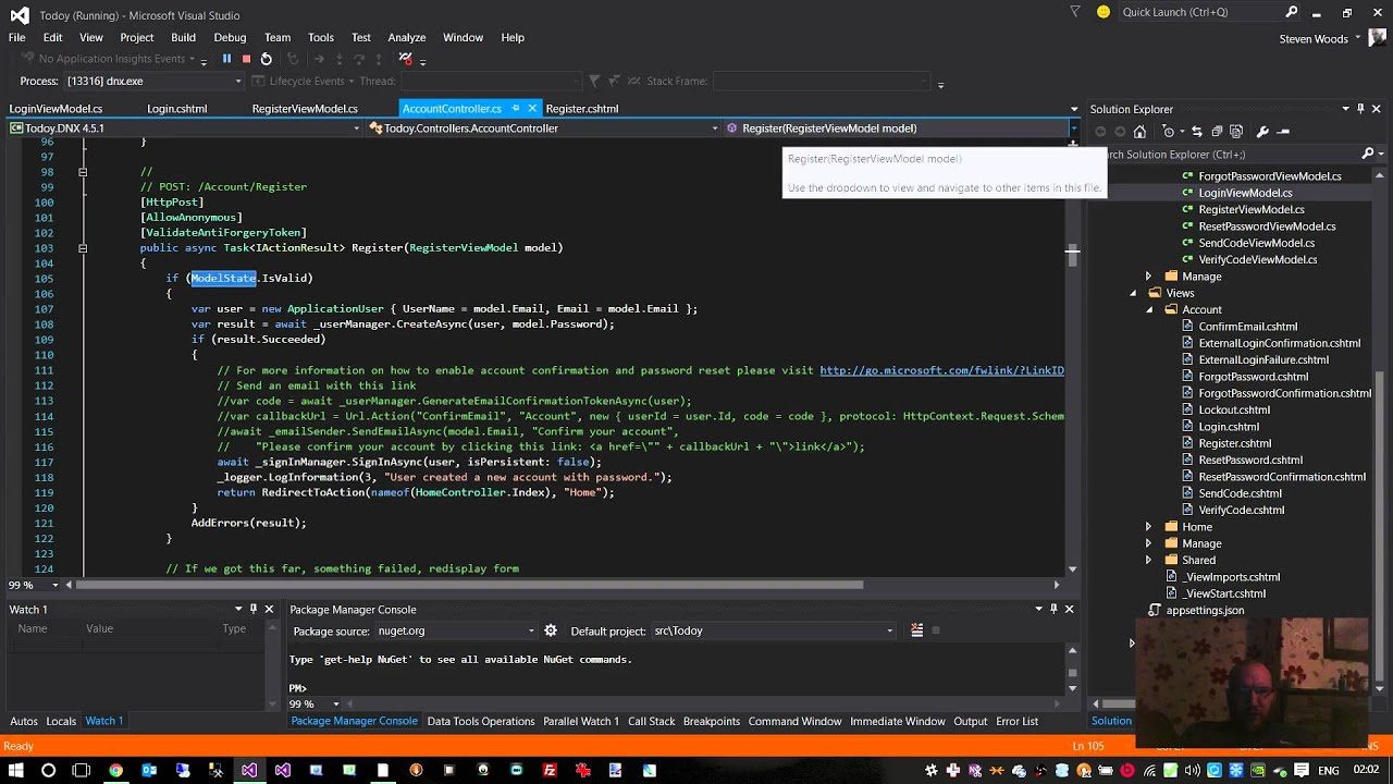 let's build - asp 5, mvc 6 todolist with entity framework 7 and